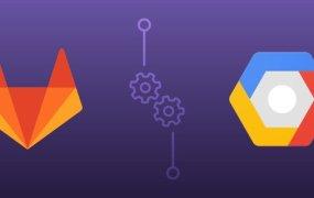 Logos of GitLab and Google Cloud Platform