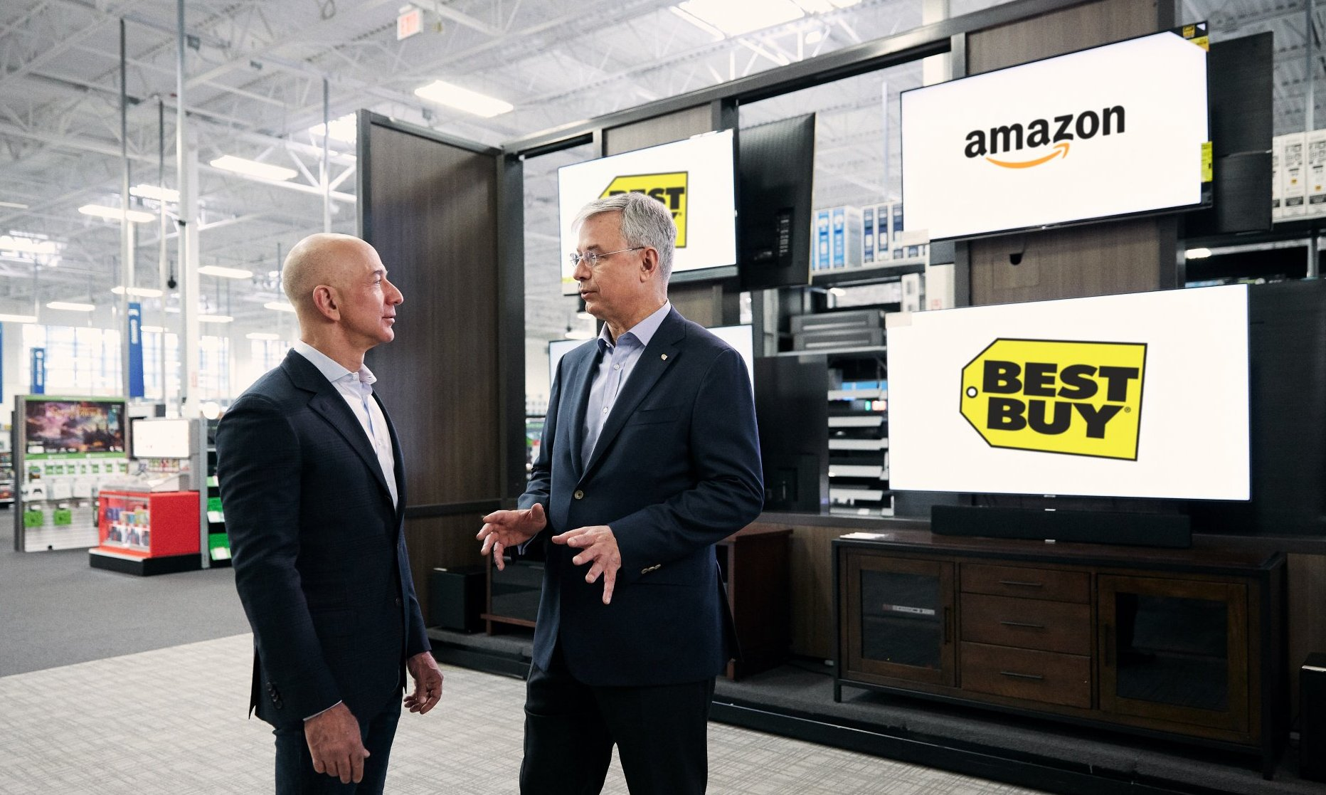 Best Buy, Amazon Announce Partnership