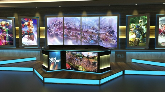 ESP Gaming is creating an esports studio in the Aria Resort & Casino in Las Vegas.