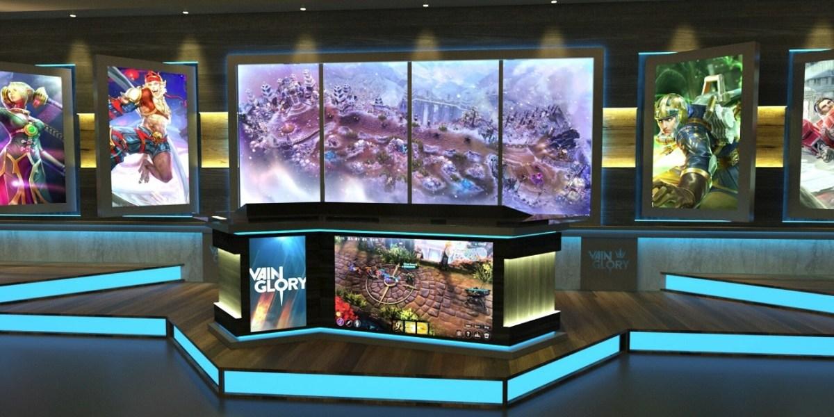 ESP Gaming is creating an esports studio in the Aria Resort & Casino in Las Vegas.