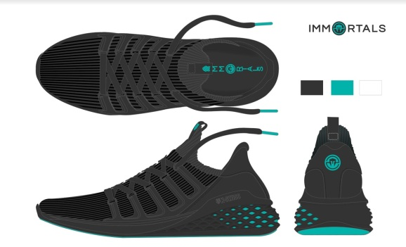 K-Swiss and Immortals are selling an esports shoe.