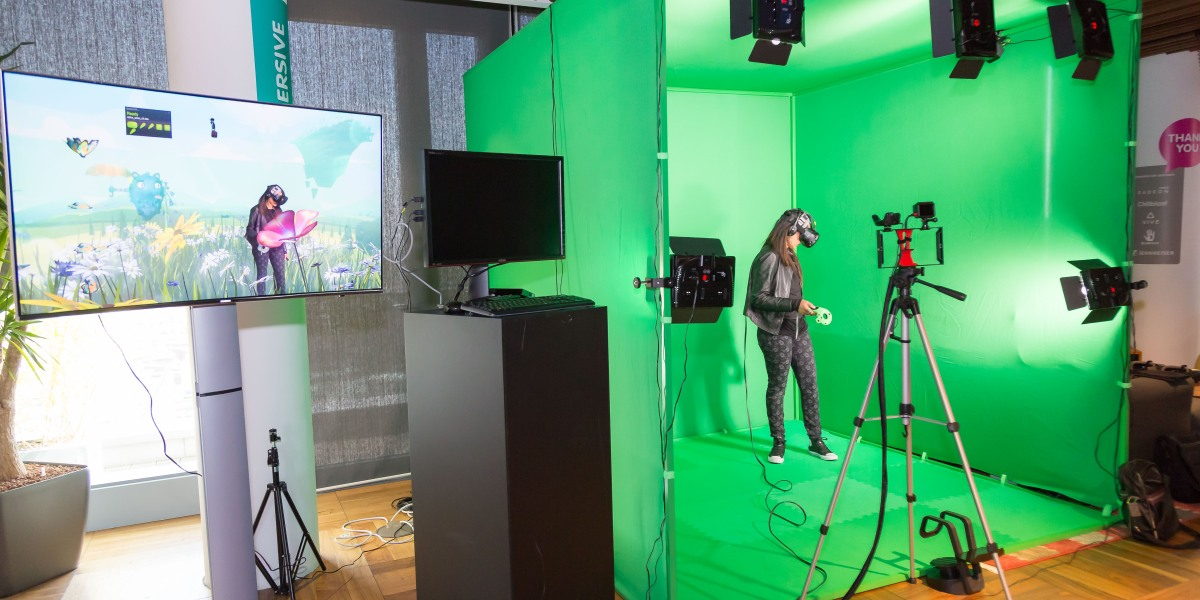 Digital Catapult's Immersive Lab launch May 2017