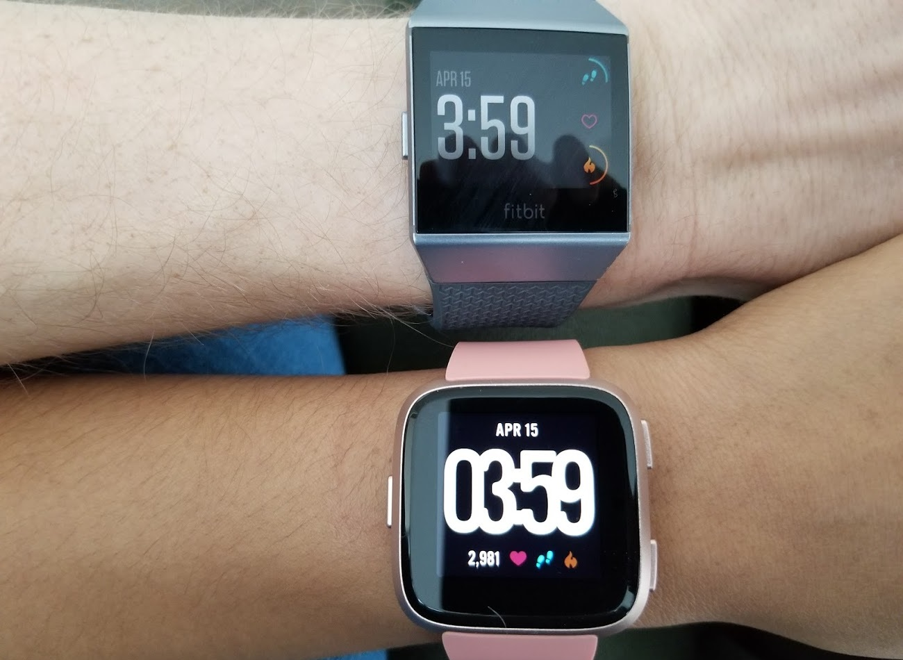 photo image Ionic versus Versa: Which Fitbit smartwatch is for you?
