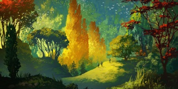 Forest of Liars plays with art and trust as you tromp through the woods