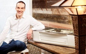 Dan Shapiro, CEO of 3D laser printer company Glowforge.