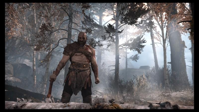 Look! Kratos isn't yelling!