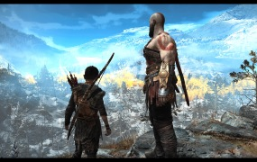 """""""Look, Atreus. Everything the light touches is our kingdom."""""""