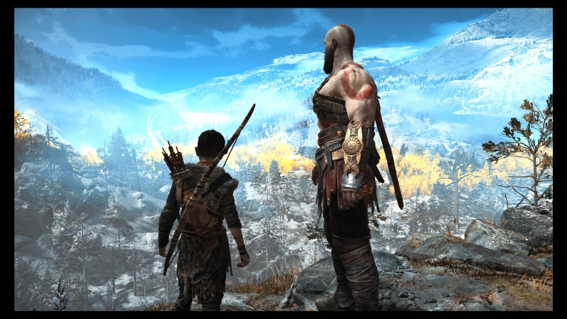 """Look, Atreus. Everything the light touches is our kingdom."""