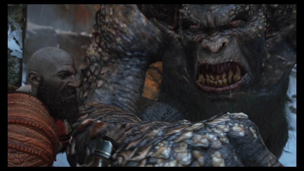 Kratos still fights plenty of monsters.