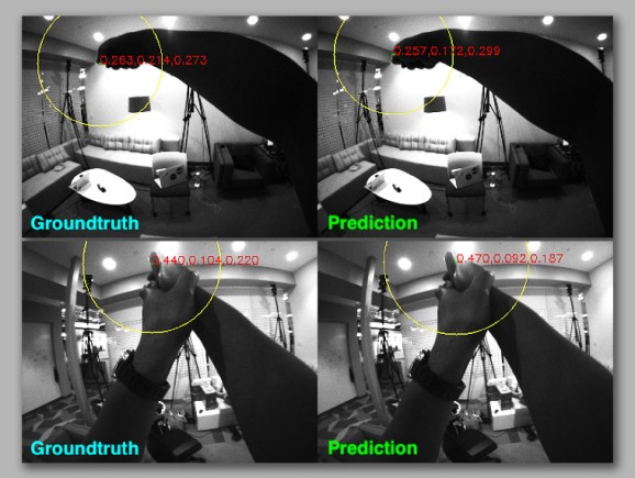 Google trains a VR headset to do 6DOF position sensing with AI assistance.
