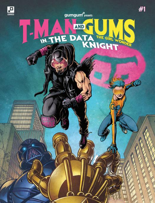 GumGum T-Man Comic Book