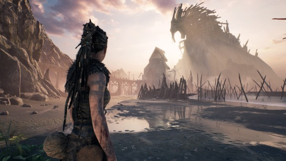 Hellblade is an award-winning PS4 game that's exclusively available digitally - at an affordable price.