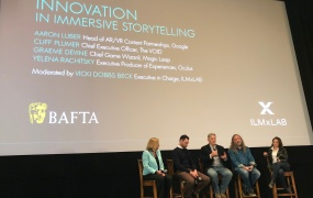 ILMxLAB and BAFTA partnered up for a one-event.