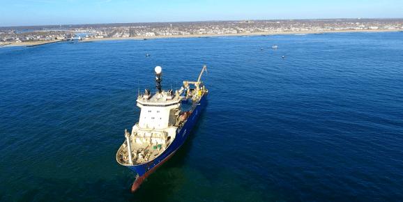 Subsea cabling begins