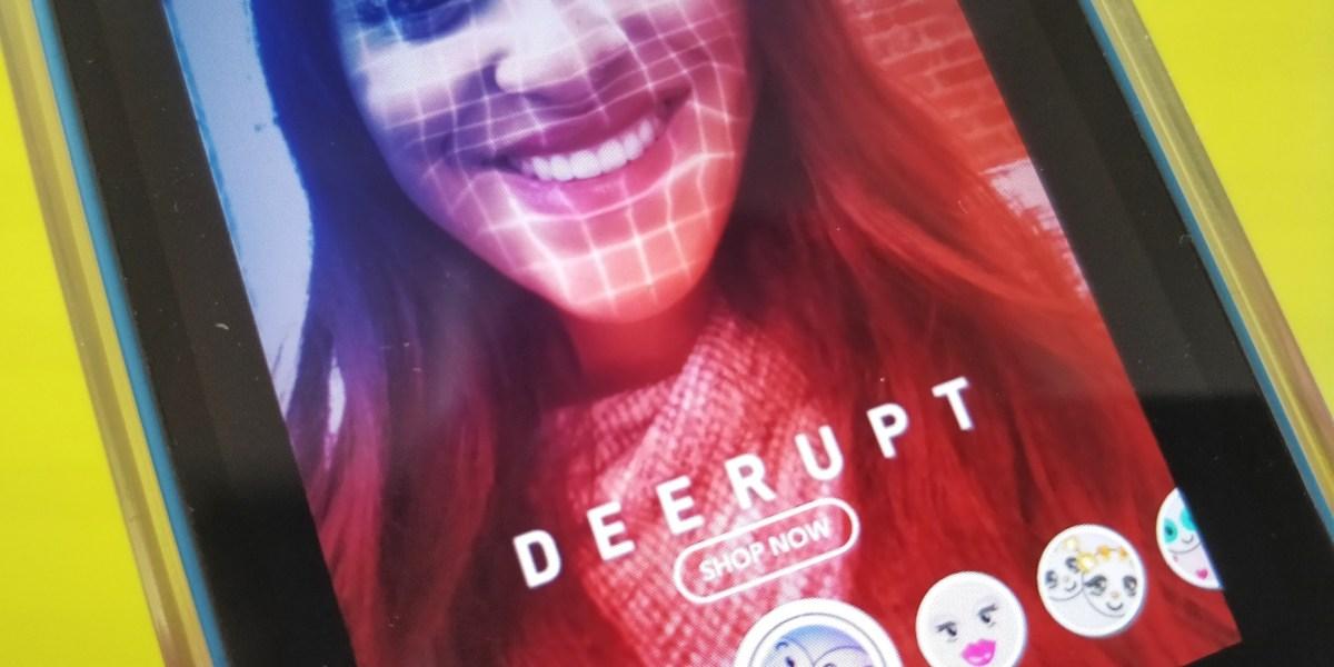 Snapchat: Shoppable AR