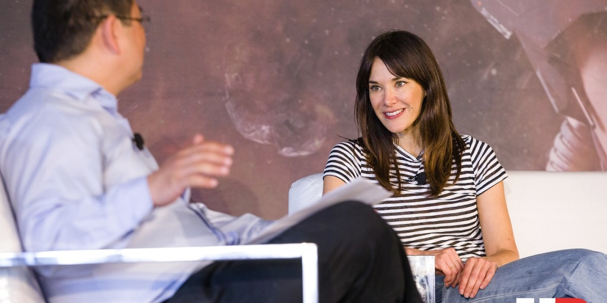 Jade Raymond of Electronic Arts speaks at GamesBeat Summit 2018.