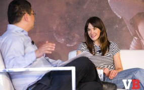 Jade Raymond of Electronic Arts speaks at GamesBeat Summit 2018.