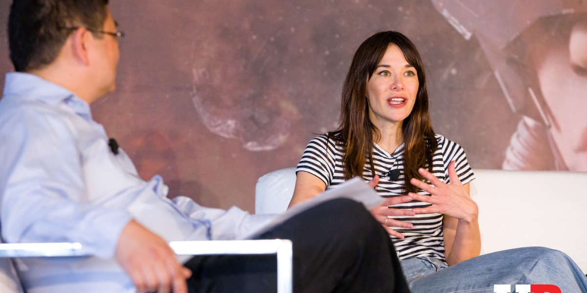 Jade Raymond at GamesBeat Summit 2018.