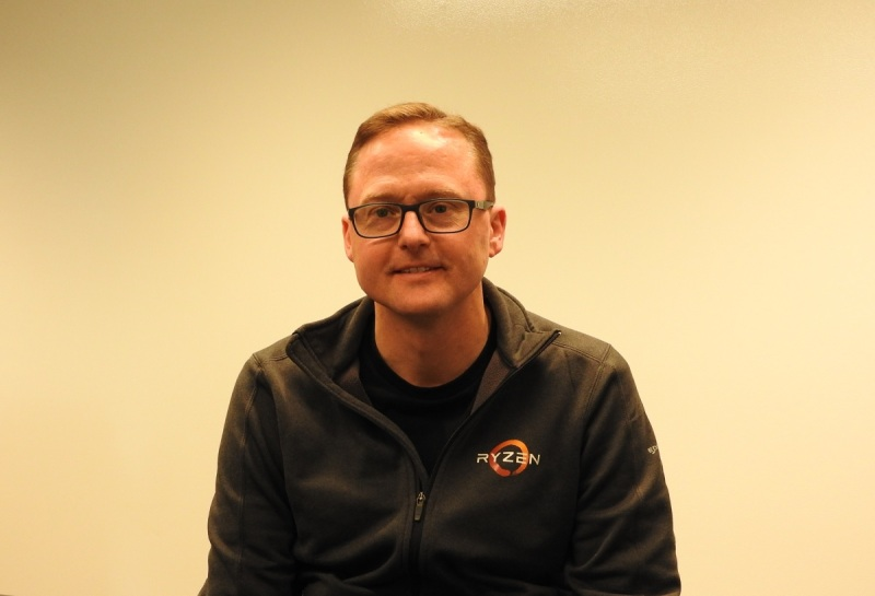 Jim Anderson heads the computing and graphics division of AMD.