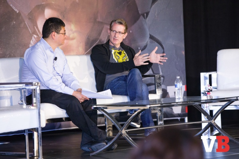 Kent Wakeford of KsV Esports speaks at GamesBeat Summit 2018.