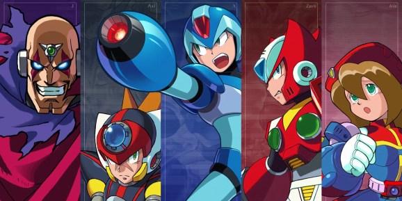 Mega Man X Legacy Collection.