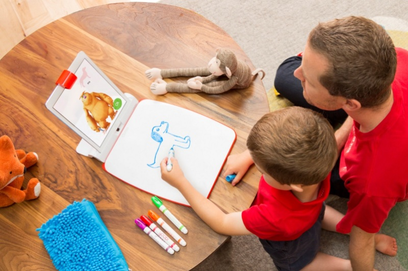 Osmo Monster lets kids create their own characters.