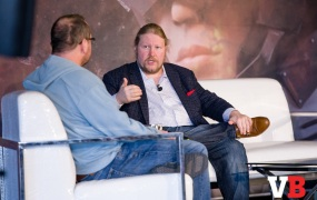 Jon Radoff, CEO of Disruptor Beam, speaks with Colin Campbell of Polygon at GamesBeat Summit 2018.