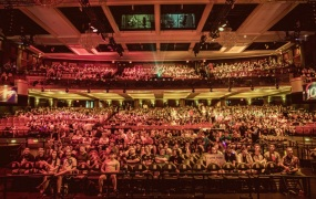 The scene of the finals for the NA LCS spring finals.