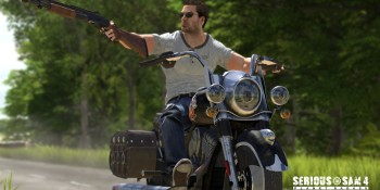 Serious Sam 4: Planet Badass loads up a new entry for the FPS series
