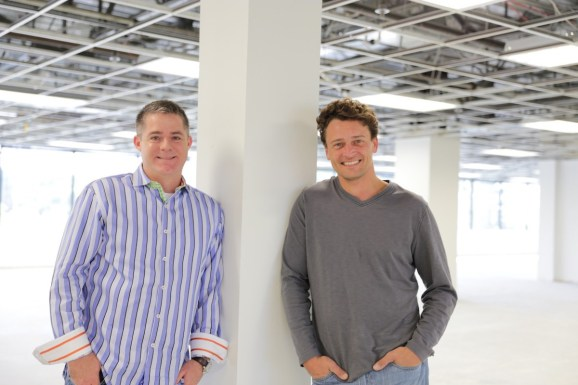 DemandJump cofounders Christopher Day (left) and