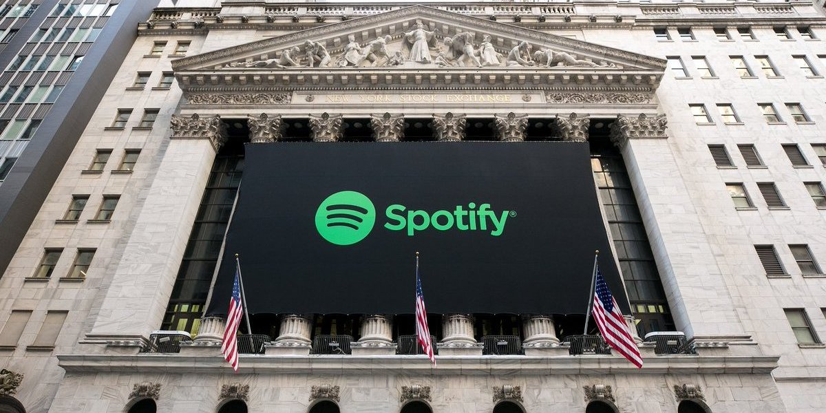 Spotify on the NYSE