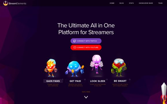 StreamElements gets YouTube support