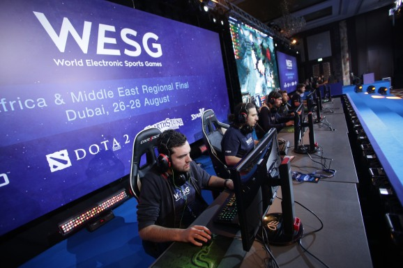 An esports tournament held in Dubai.