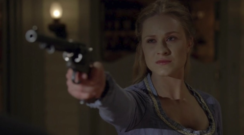 Dolores is an AI character in Westworld who achieves consciousness.