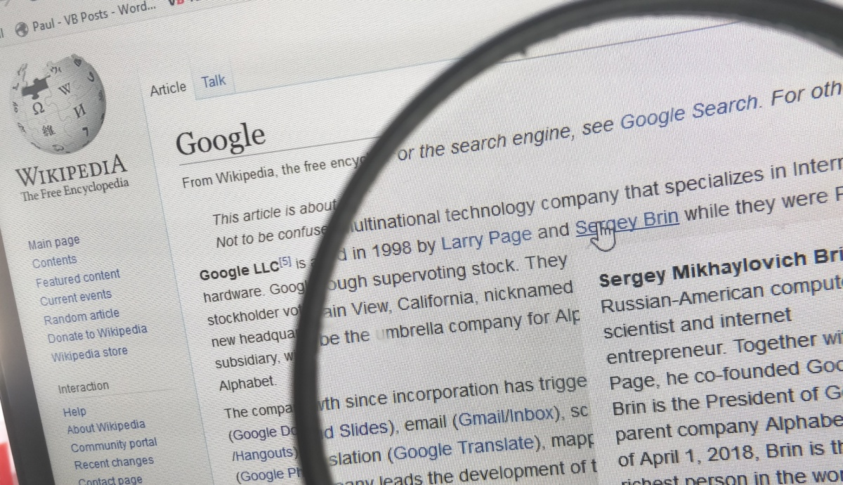 Techmeme: Wikimedia announces the integration of Google