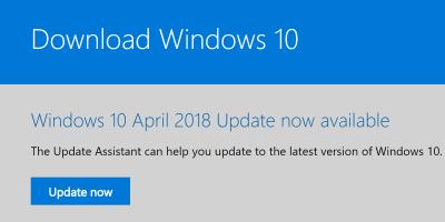 windows 10 update assistant download restarts