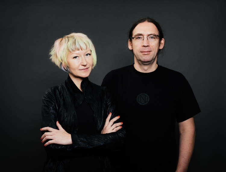 Zoe Adamovicz (left), CEO and Co-Founder of Neufund; and