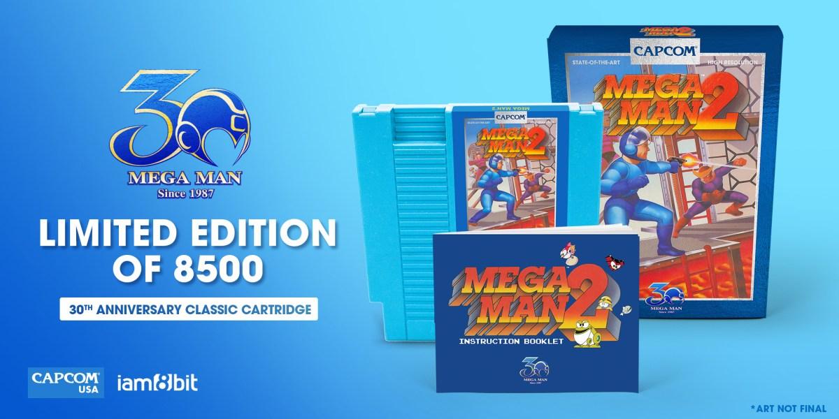 New packaging for Mega Man 2.