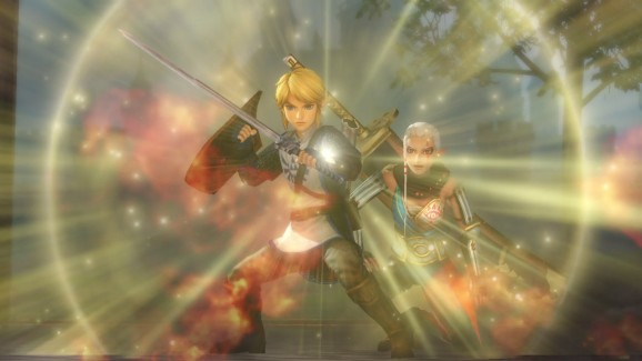 You'll control multiple versions of Link throughout Hyrule Warriors.