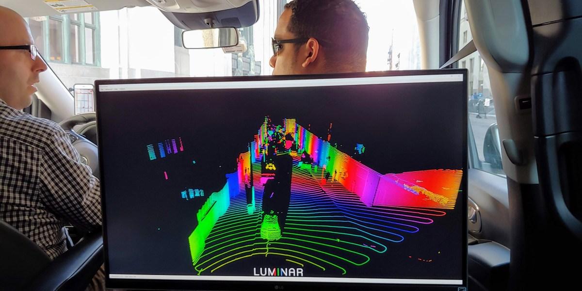 Luminar lidar sensor
