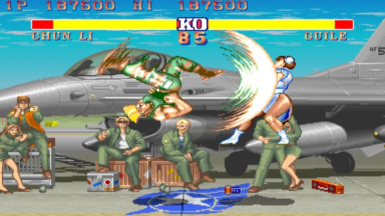 Street Fighter II is one of the most influential video games in history, and only one of 12 titles in this collection.
