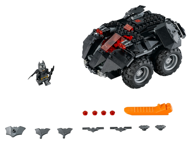 Lego Powered Up Platform -- Lego Batmobile