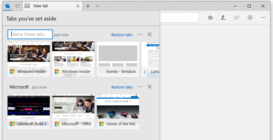 Microsoft releases new Windows 10 preview with Edge