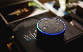 Amazon's Echo smart speaker with Alexa