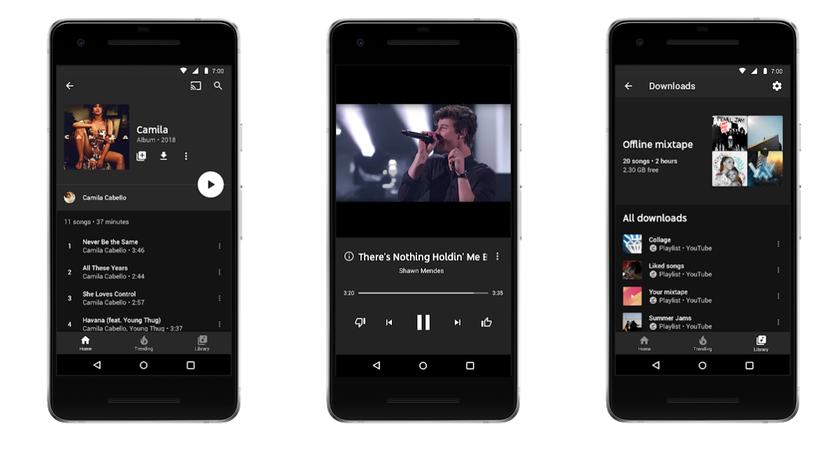 Youtube Music And Premium Everything You Need To Know About Google S New Streaming Subscriptions Venturebeat