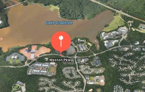 A new report says Apple could initially lease space around Weston Parkway in Cary, North Carolina.