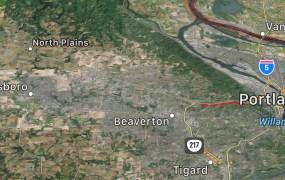 Apple's new hardware lab is said to be between Beaverton and Hillsboro, near Portland.