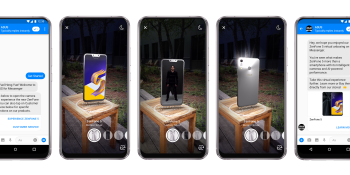 Facebook brings augmented reality to Messenger bots