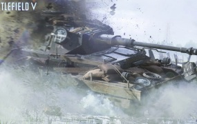 Tanks will cause swaths of destruction in Battlefield V.