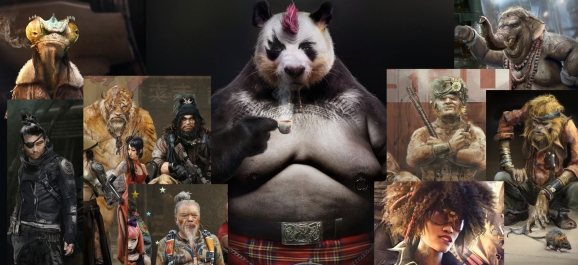 Beyond Good and Evil 2 characters.